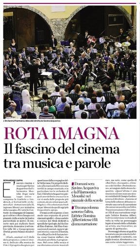 Il fascino del cinema tra musica e parole