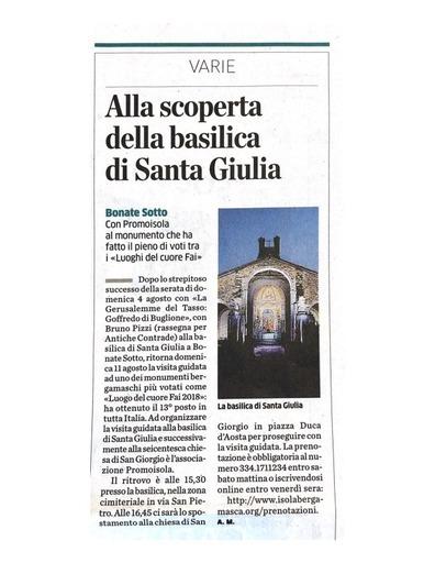 Alla scoperta della basilica di Santa Giulia