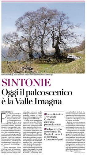 Sintonie: oggi il palcoscenico è la Valle Imagna