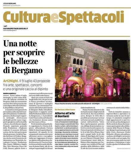 Una notte per scoprire le bellezze di Bergamo