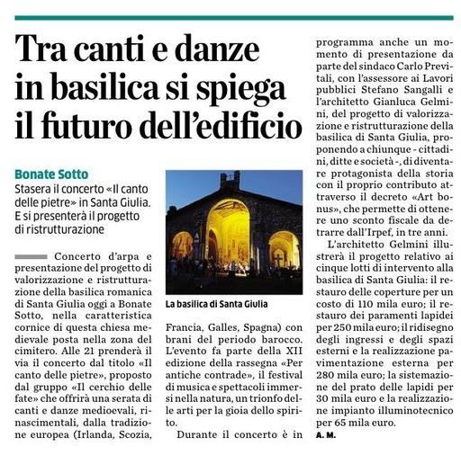 Tra canti e danze in basilica si spiega il futuro dell'edificio