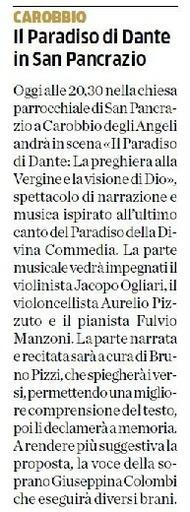 Il Paradiso di Dante in San Pancrazio