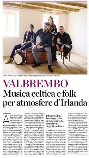 Musica celtica e folk per atmosfere d'Irlanda